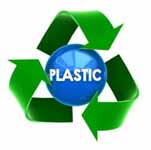 Pieces of plastic